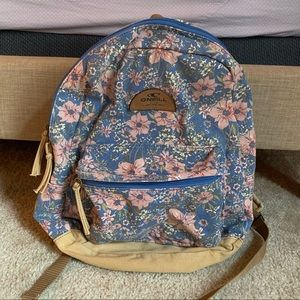 O'Neill Floral Backpack